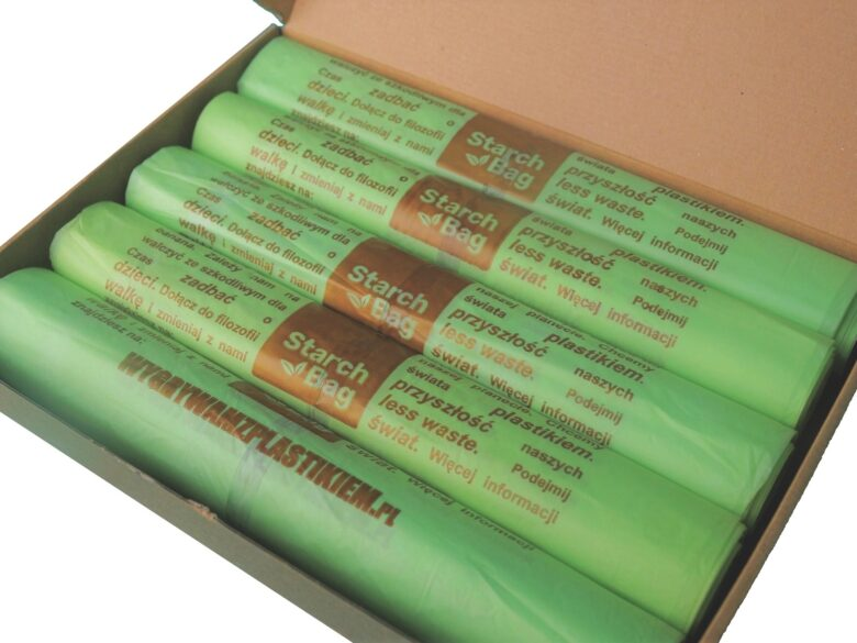 pięcipak worki starchbag60l biodegradowlane