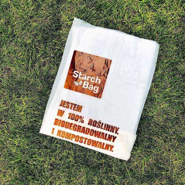 worek starchbag biodegradowalny kompostowalny ekologiczny